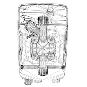 дозирующий насос eONE 3D модели