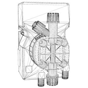 насос-дозатор DLX 3D модель